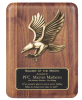 Walnut Eagle Plaque Employee Awards