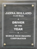 R0413 - Natural Gray Slate-raised Glass Employee Awards