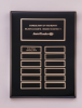 Black Piano-Finish Perpetual Plaque Featured Items
