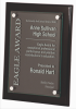 Black Piano Finish Plaque Glass Plaques