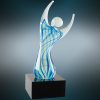 Raised Arms Art Glass Sales Awards