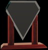 Royal Marquis Diamond Clear Glass Award Sales Awards