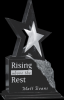 Ebony Stone Star Stone Plaque Awards