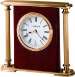 R3104 - High Gloss Rosewood Finish and Brass Award Clock 13. Classic Clocks