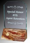 R0307 - Glass and Amber Onyx Award 4. Marble Awards