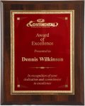 R1207 - Wood Finished Plaque & Florentine Edge Engraving Plate 6. Plaques