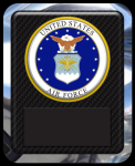 US Air Force Seal Military Hero Plaque Acrylic Plaques