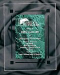 Green Marble Acrylic Award Recognition Plaque Acrylic Plaques
