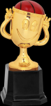 Happy Cup Trophy -Basketball Basketball Trophy Awards