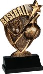 Broadcast Resin -Baseball Broadcast Resin Trophies