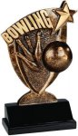 Broadcast Resin -Bowling Broadcast Resin Trophies