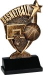 Broadcast Resin -Basketball Broadcast Resin Trophies