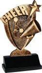 Broadcast Resin -Cheer Broadcast Resin Trophy Awards