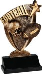 Broadcast Resin -Football Broadcast Resin Trophy Awards
