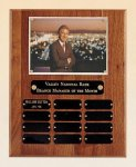 American Walnut Photo Perpetual Plaque Certificate Plaques