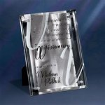 Silver Reflections Clear Glass Awards