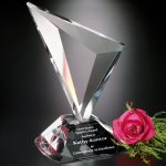 Genesis Award Clear Optical Crystal Awards