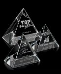 Reflections Clear Optical Crystal Awards