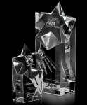 Nebula Rising Clear Optical Crystal Awards