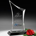 Coburn Award Clear Optical Crystal Awards