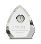 Crystal Arrowhead Clock Clock Awards
