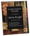 Acrylic Art Plaque Award Colored Acrylic Awards