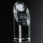 Quantico Cylinder Corporate Crystal Awards