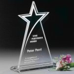 Meteor Star Corporate Crystal Awards