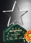 Verdant Star Corporate Crystal Awards
