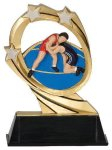 Wrestling Cosmic Resin Trophy Cosmic Resin Trophies