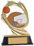 Basketball Cosmic Resin Trophy Cosmic Resin Trophies