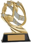 Music Cosmic Resin Trophy Cosmic Resin Trophy Awards