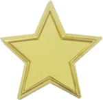 The Recognition Star Lapel Pin Custom Lapel Pins
