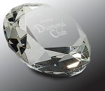 Crystal Diamond Paper Weight Diamond Awards
