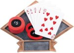 Poker Diamond Plate Resin  Diamond Plate Resin Trophies