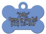Dog Bone Pet Tag Dog Tags - Blank