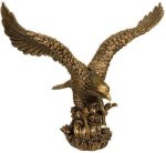 Gold Eagle Resin Trophy Eagle Awards