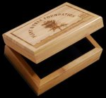 R2705 - Keepsake Box - Bamboo Eco Friendly Awards