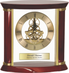 Executive Rosewood Clock Employee Awards