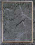Gray Marble Finish Recognition Plaque Employee Awards