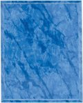 Bright Blue Marble Finish Recognition Plaque Employee Awards