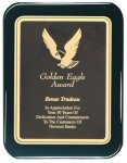 Black Piano Finish Recognition Plaque Employee Awards