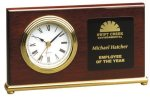 Horizontal Desk Clock Executive Gift Awards