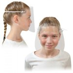 Clear Acrylic Child Safety Shield Facial Covering