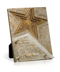 Resounding Star Glass Plaques