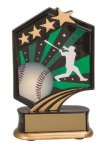 Baseball Resin Trophy Graphic Sport Resin Trophies