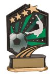 Soccer Resin Trophy Graphic Sport Resin Trophies