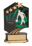 Bowling Resin Trophy Graphic Sport Resin Trophies