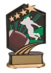 Football Resin Trophy Graphic Sport Resin Trophies