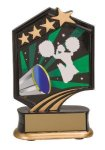 Cheerleading Resin Trophy Graphic Sport Resin Trophies